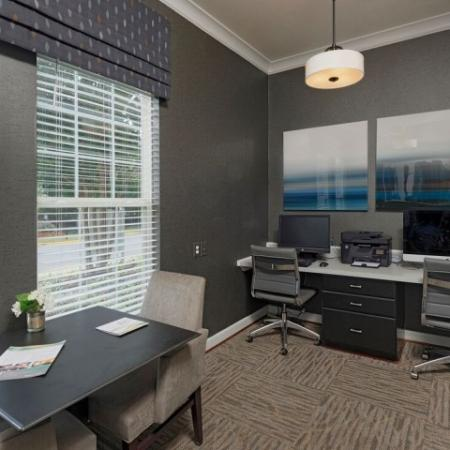 Resident Business Center | Fairfax VA Apartment For Rent | Lincoln at Fair Oaks Apartments