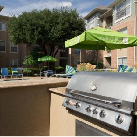 Resident BBQ | Apartments in Dallas, TX | Metropolitan at Cityplace