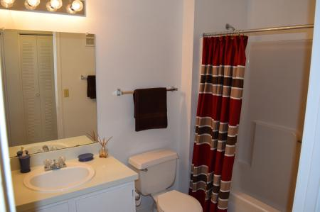 Spacious Master Bathroom | Apartments Homes for rent in Jacksonville, FL | Deerfield Apartments