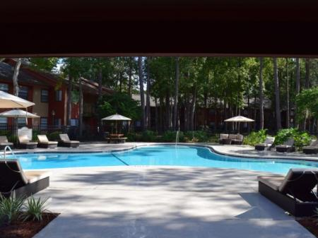 Year Round Swimming Pool | Apartment in Jacksonville, FL | Deerfield Apartments