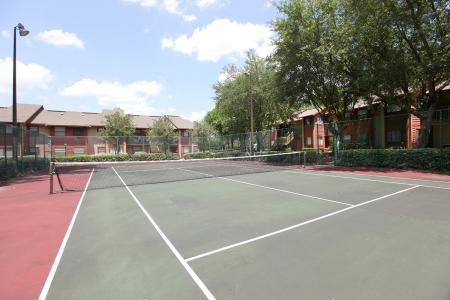 Community Tennis Court | Apartments in Jacksonville, FL | Deerfield Apartments