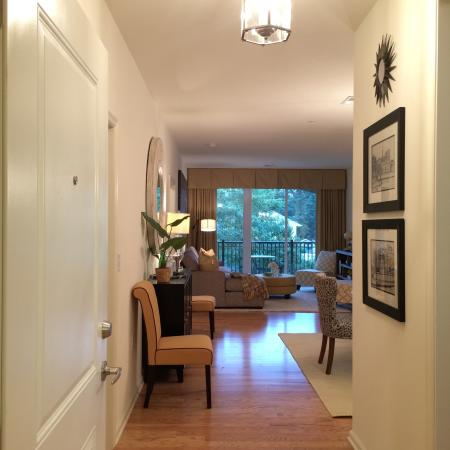 Spacious Hallway | Apartments In Bound Brook NJ | Queens Gate