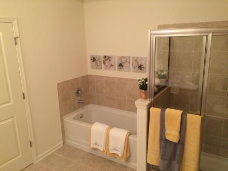Residents in the Bathroom | Bound Brook Apartments NJ | Queens Gate
