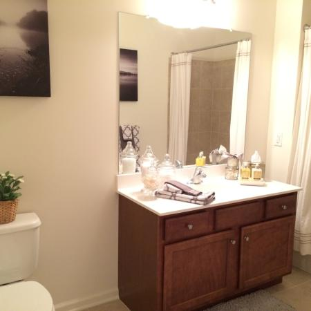 Elegant Master Bathroom | Apartments In Edison NJ | Queens Gate