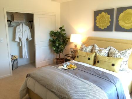 Residents in the Bedroom | Bound Brook Apartments NJ | Queens Gate