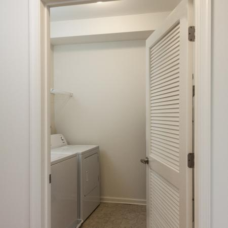 In-apartment Laundry| Apartments In Edison NJ | Queens Gate