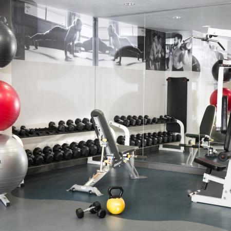 Resident Fitness Center | Apartments Dallas, TX | Metropolitan at Cityplace
