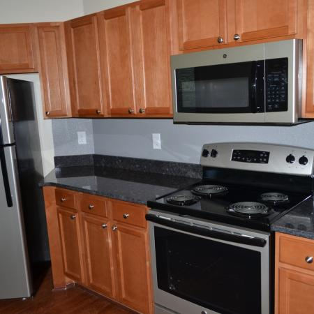 State-of-the-Art Kitchen | Knightdale NC Apartment Homes | Greystone at Widewaters