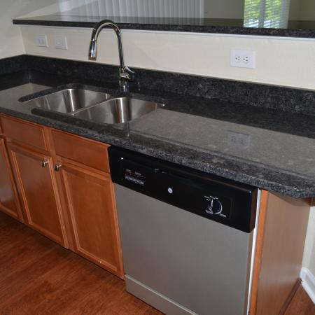 Elegant Kitchen | Apartments in Knightdale, NC | Greystone at Widewaters