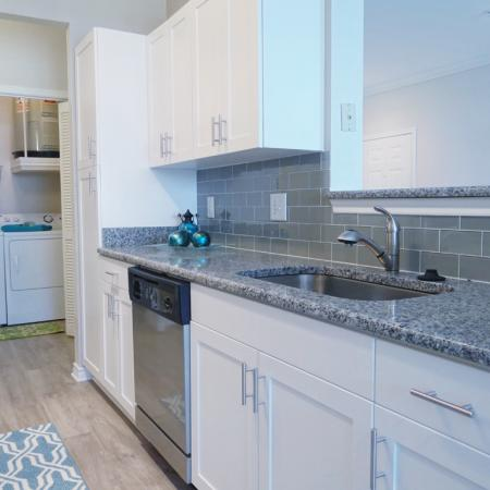 Elegant Kitchen | Apartments in Durham, NC | Lodge at Southpoint Apartments