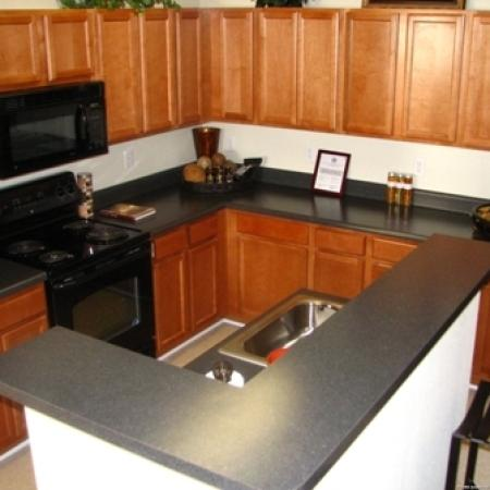 Spacious Kitchen | Apartments for rent in Knightdale, NC | Greystone at Widewaters