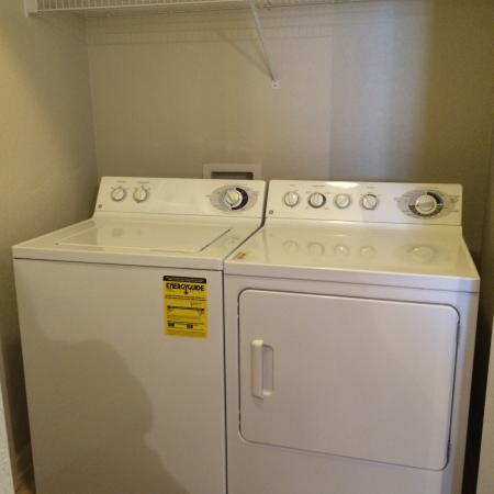 In-home Laundry| Apartments Homes for rent in Knightdale, NC | Greystone at Widewaters