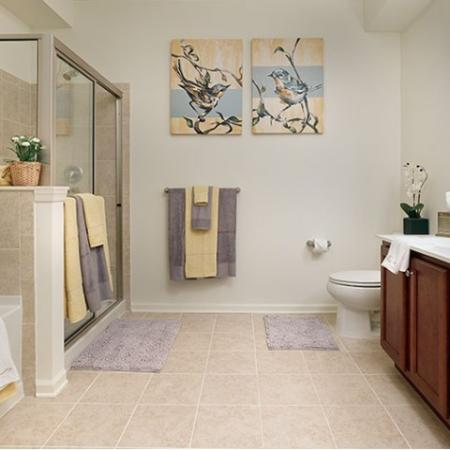 Luxurious Bathroom | Bound Brook NJ Apartments | Queens Gate
