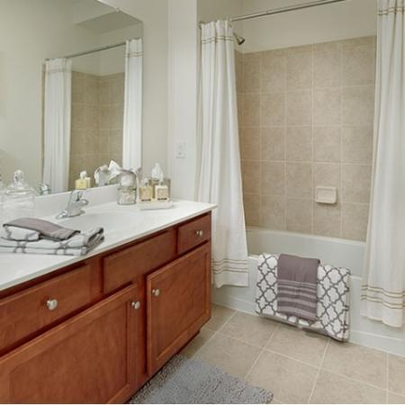 Spacious Bathroom | Apartments Near Edison NJ | Queens Gate