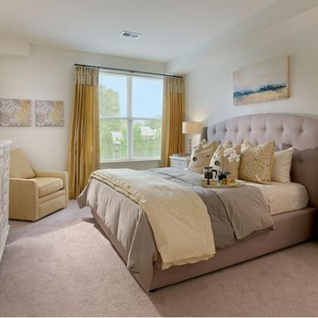 Elegant Bedroom | Apartments Near Edison NJ | Queens Gate