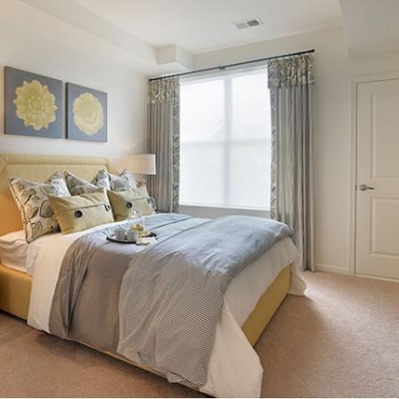Elegant Master Bedroom | Apartments In Edison NJ | Queens Gate