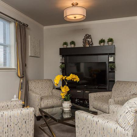 Spacious Living Area | Somerville Apartments NJ | Queens Gate