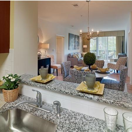 Modern Kitchen | Apartments Near Edison NJ | Queens Gate