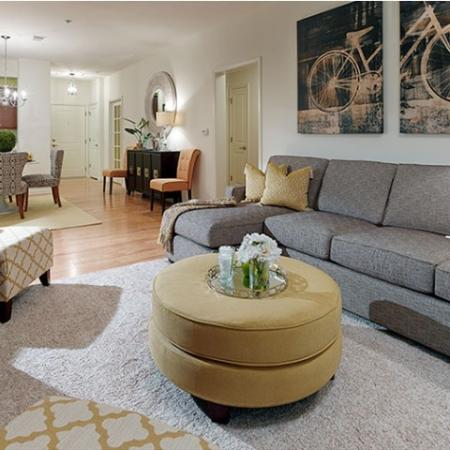 Elegant Living Area | Apartments In Edison NJ | Queens Gate