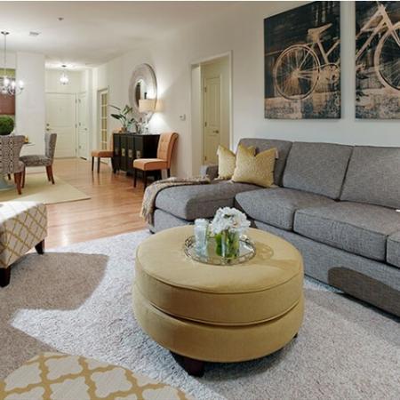Elegant Living Area | Apartments In Edison NJ | Queens Gate