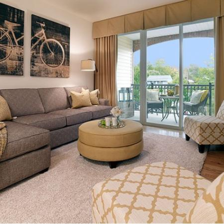 Elegant Living Room | Bound Brook NJ Apartments | Queens Gate