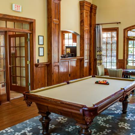 Resident Billiards Table | Apartments Raleigh, NC | Inman Park Apartments