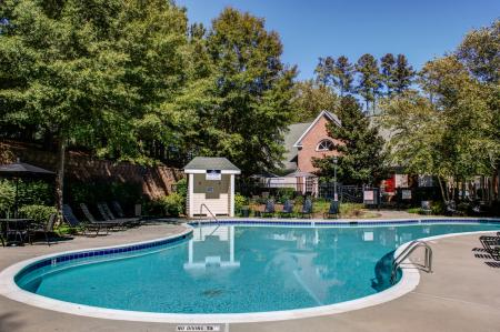 Sparkling Pool | Apartments for rent in Raleigh, NC | Inman Park Apartments