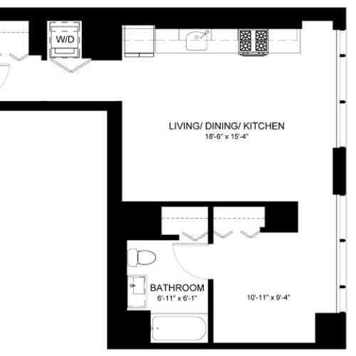 Convertible Floor Plan CA1
