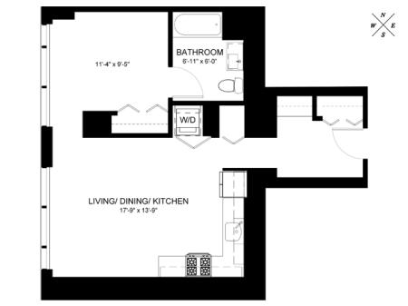 Convertible Floor Plan CC