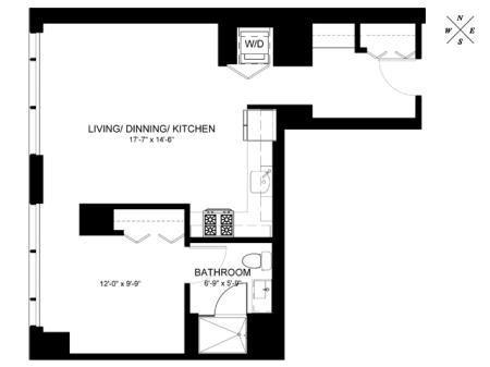 Convertible Floor Plan CE
