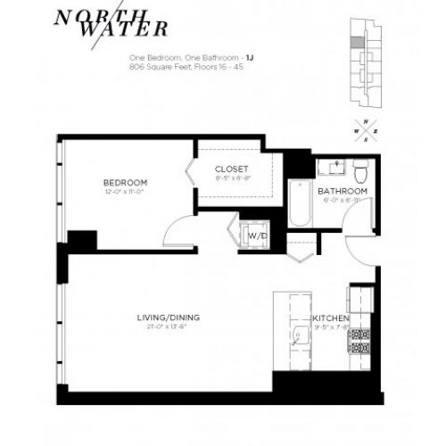 North Water Apartments