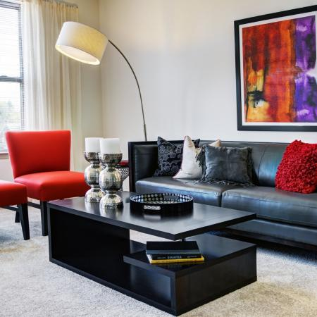Elegant Living Room | Apartments In Malvern PA | Eastside Flats