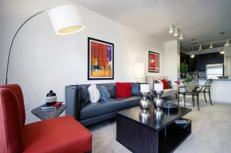 Spacious Living Room | Malvern Apartments | Eastside Flats