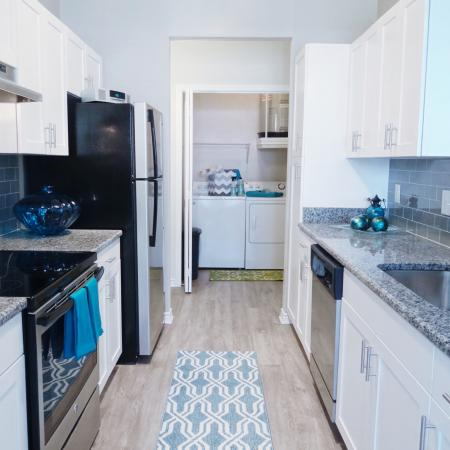 Modern Kitchen | Durham NC Apartment For Rent | Lodge at Southpoint Apartments