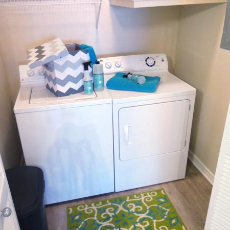 In-home Laundry| Apartments Homes for rent in Durham, NC | Lodge at Southpoint Apartments
