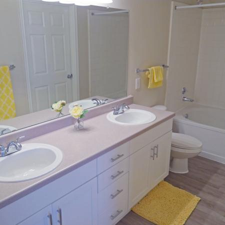 Vast Master Bathroom | Durham NC Apartments For Rent | Lodge at Southpoint Apartments