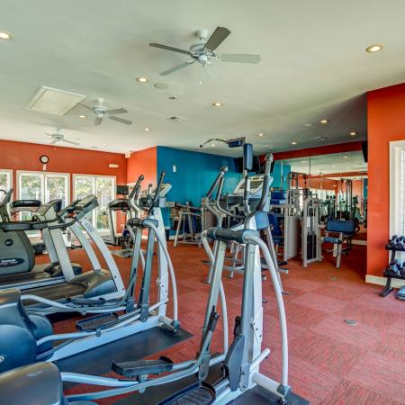 State-of-the-Art Fitness Center | Apartment Homes in Durham, NC | Lodge at Southpoint Apartments