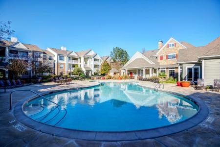 Resident Hot Tub | Apartments in Durham, NC | Lodge at Southpoint Apartments