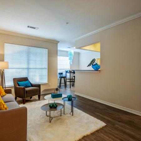 Elegant Living Room | Apartments for rent in Durham, NC | Lodge at Southpoint Apartments