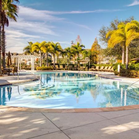 Swimming Pool | Apartments For Rent In Tampa FL | The Lodge at Lakecrest