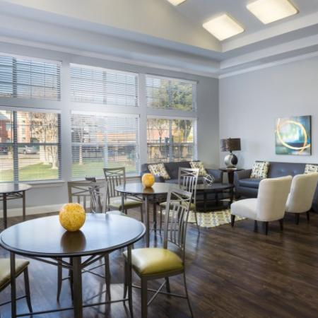 Spacious Resident Club House | Apartment in Dallas, TX | Flats at Five Mile Creek