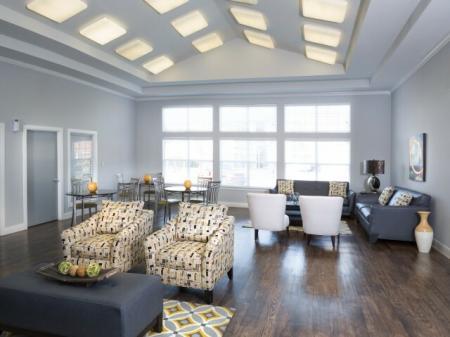 Elegant Community Club House | Dallas TX Apartments | Flats at Five Mile Creek
