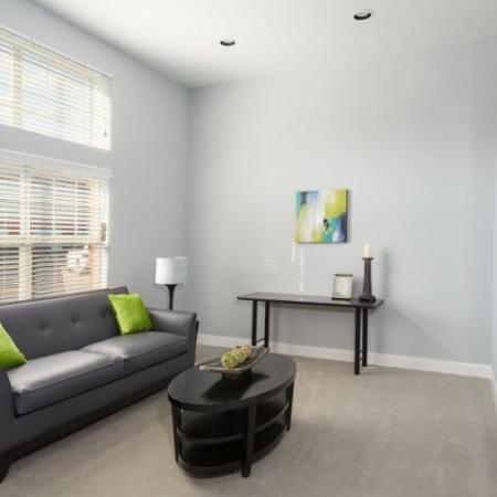 Spacious Living Room | Apartments in Dallas, TX | Flats at Five Mile Creek