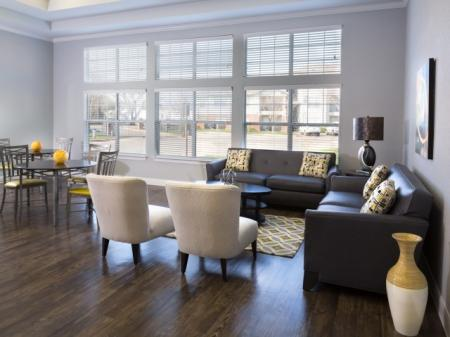 Elegant Resident Club House | Dallas TX Apartment Homes | Flats at Five Mile Creek