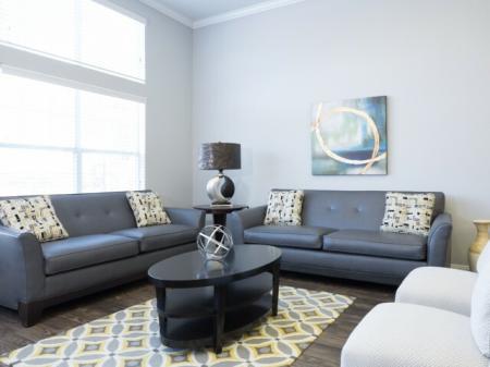 Elegant Living Room | Apartments for rent in Dallas, TX | Flats at Five Mile Creek