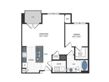 Floor Plan 3 | Eastside Flats