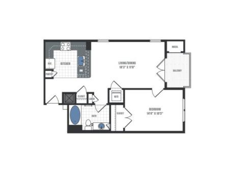 Floor Plan 4 | Eastside Flats