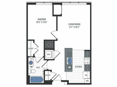 Floor Plan 8 | Eastside Flats