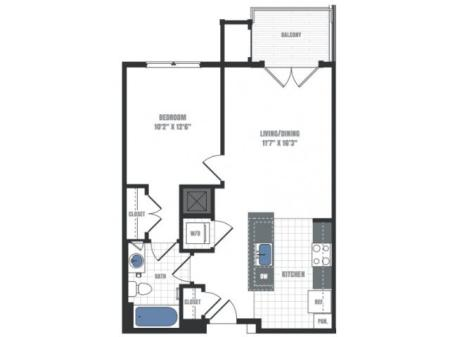 Floor Plan 9 | Eastside Flats
