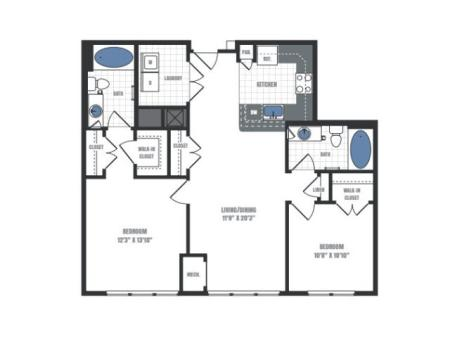 Floor Plan 13 | Eastside Flats